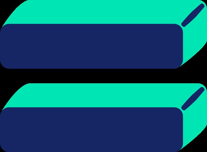 equal sign Clipart illustration in PNG, SVG