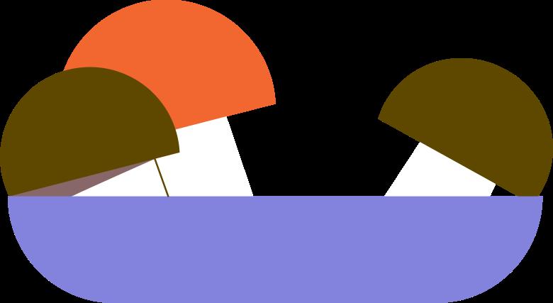 Imágenes vectoriales Taza con champiñones en PNG y SVG estilo  | Ilustraciones Icons8