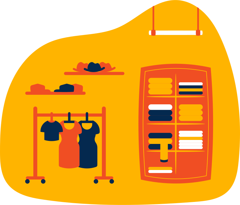 clothes shop Clipart illustration in PNG, SVG