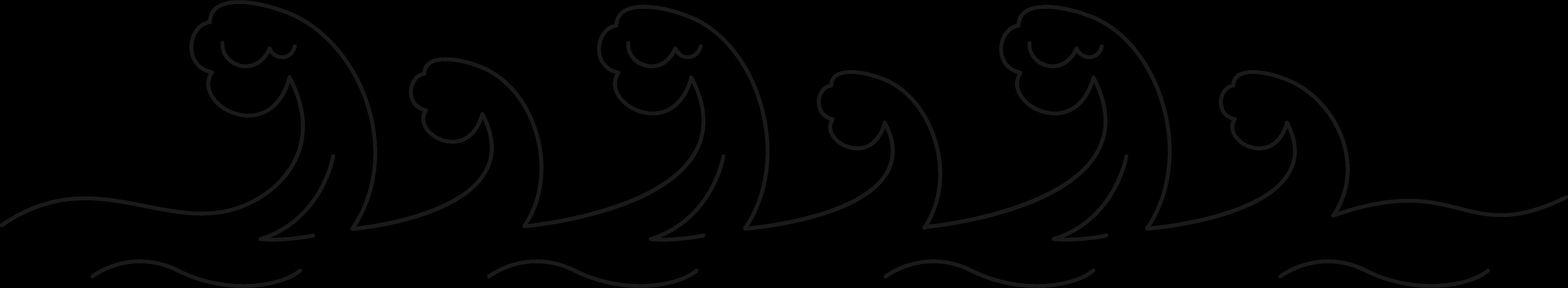 waves pattern Clipart illustration in PNG, SVG