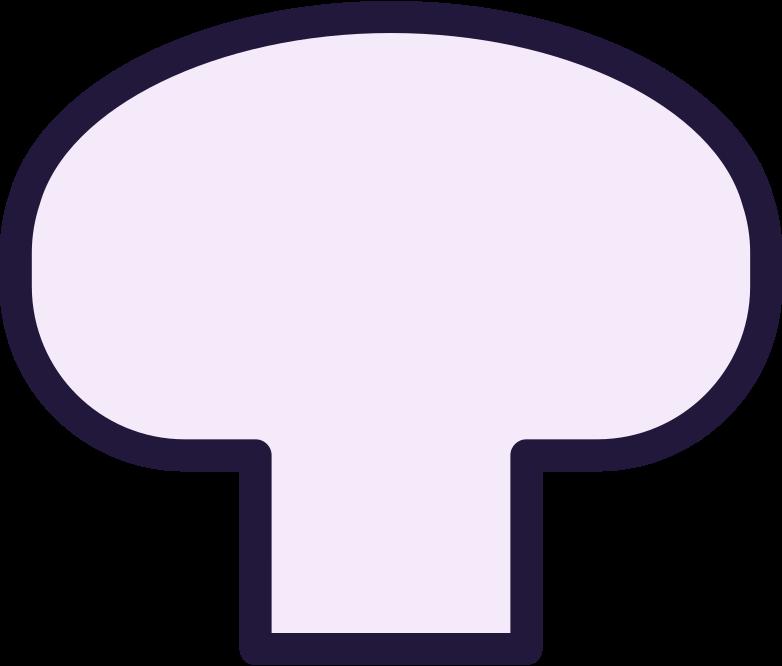 l mushroom Clipart illustration in PNG, SVG