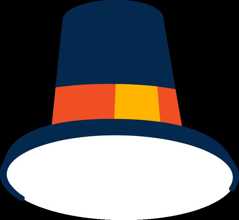 thanksgiving hat Clipart illustration in PNG, SVG