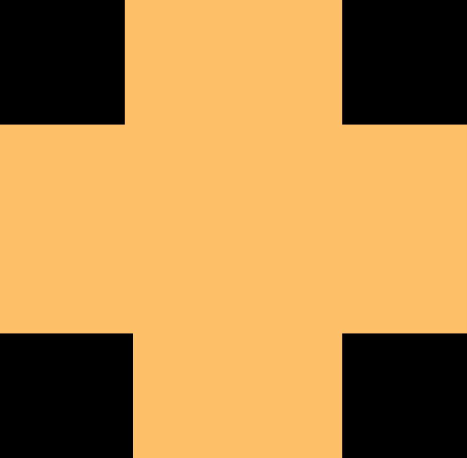 cross orange Clipart illustration in PNG, SVG