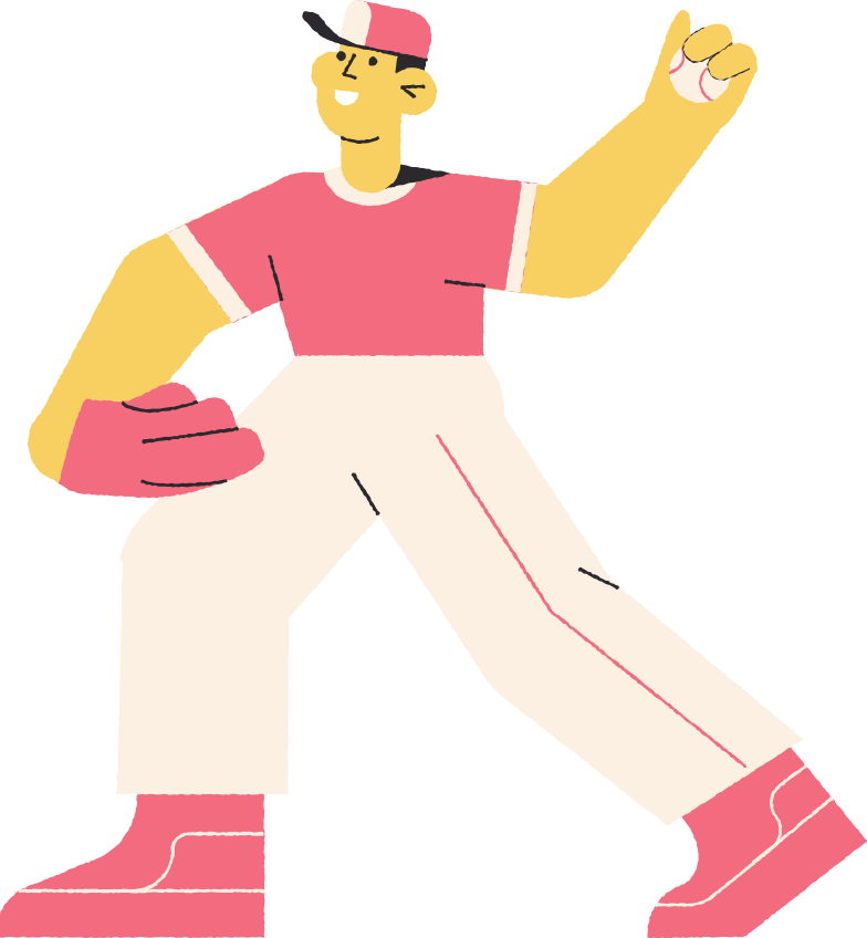 style baseballer Vector images in PNG and SVG | Icons8 Illustrations