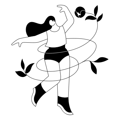 style Dancing Girl images in PNG and SVG   Icons8 Illustrations