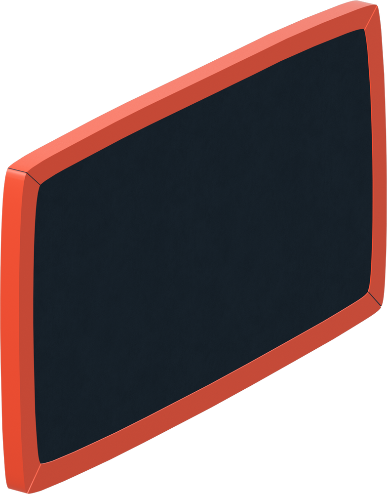 class board red Clipart illustration in PNG, SVG