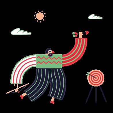Imágenes de Tiro con arco estilo  en PNG y SVG | Ilustraciones Icons8