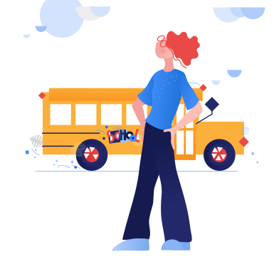 style Near the school images in PNG and SVG | Icons8 Illustrations