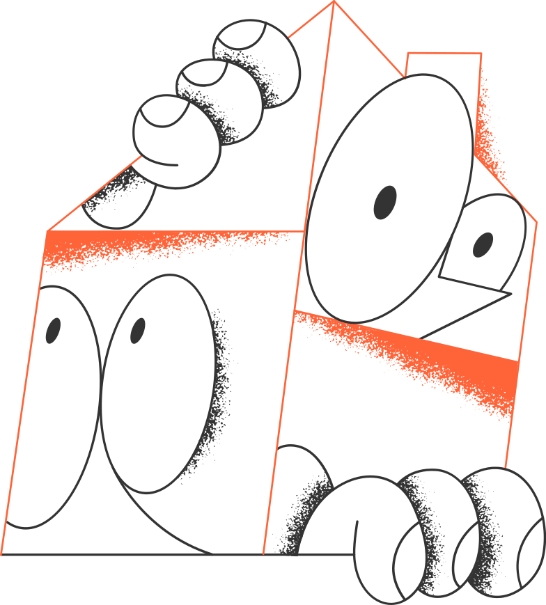 faces in the house Clipart illustration in PNG, SVG