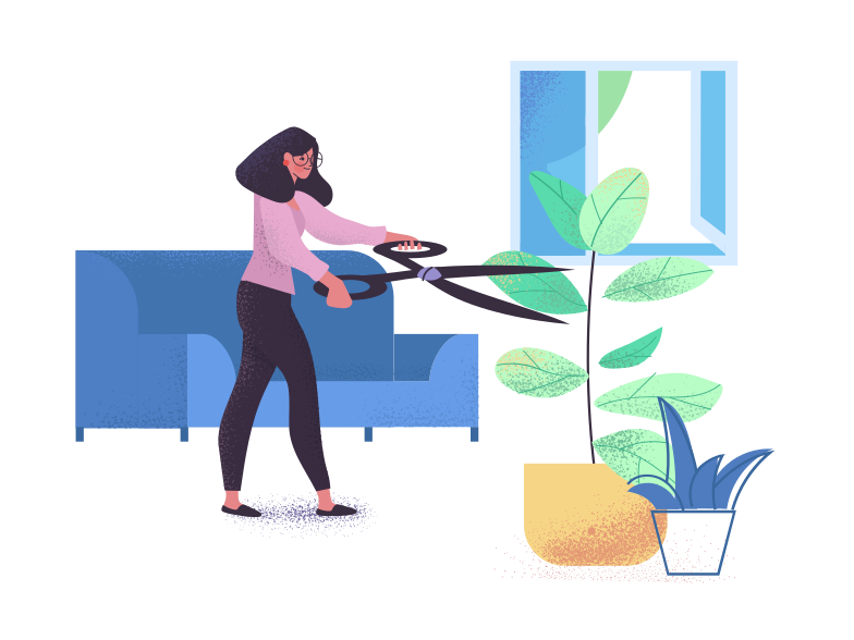 style Gardener for home plants Vector images in PNG and SVG | Icons8 Illustrations