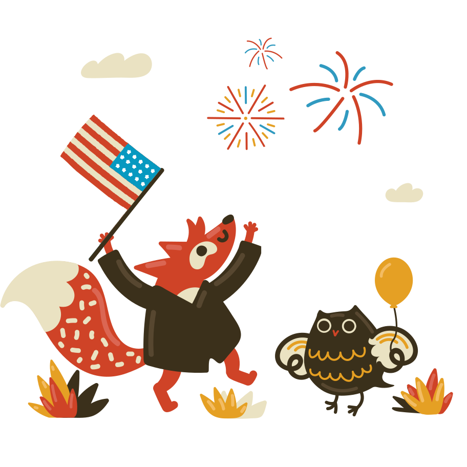 style July 4 Vector images in PNG and SVG | Icons8 Illustrations
