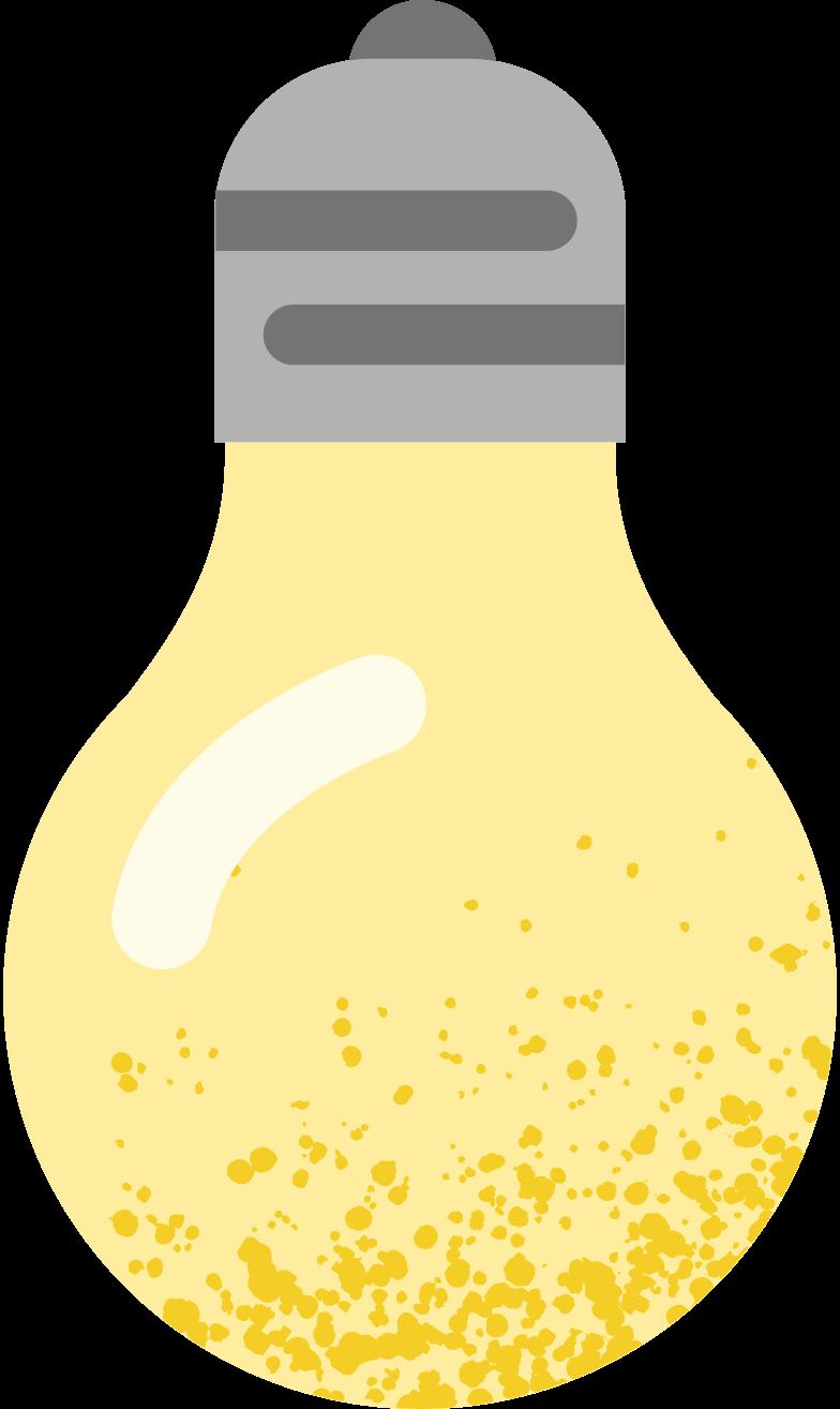 bulb Clipart illustration in PNG, SVG