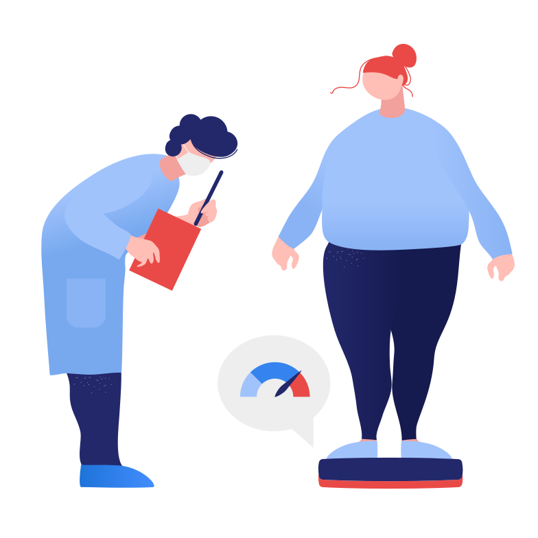 style Appointment with a nutritionist Vector images in PNG and SVG | Icons8 Illustrations