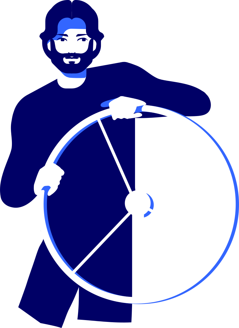 style half man at the helm Vector images in PNG and SVG   Icons8 Illustrations