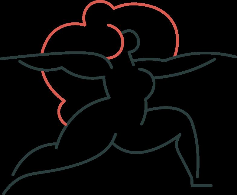 Style  yoga fille Images vectorielles en PNG et SVG | Icons8 Illustrations