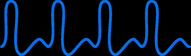 Ilustración de clipart de cardiogramm en PNG, SVG