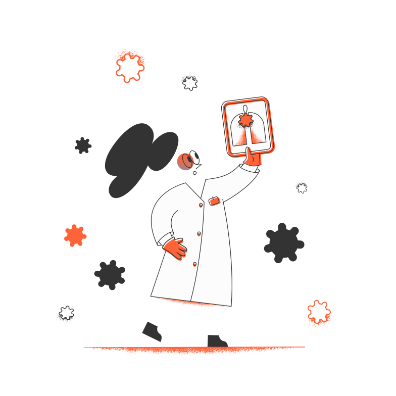 style Doctor and viruses Vector images in PNG and SVG | Icons8 Illustrations