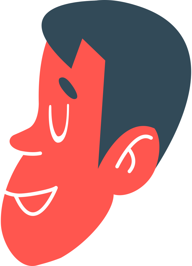 boy's head Clipart illustration in PNG, SVG