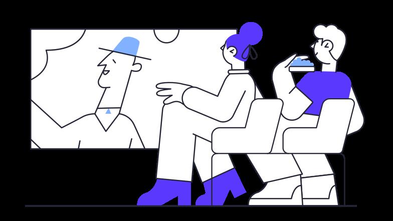 Cinema Clipart illustration in PNG, SVG