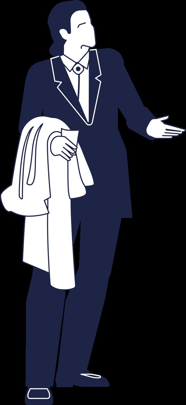john travolta line Clipart illustration in PNG, SVG