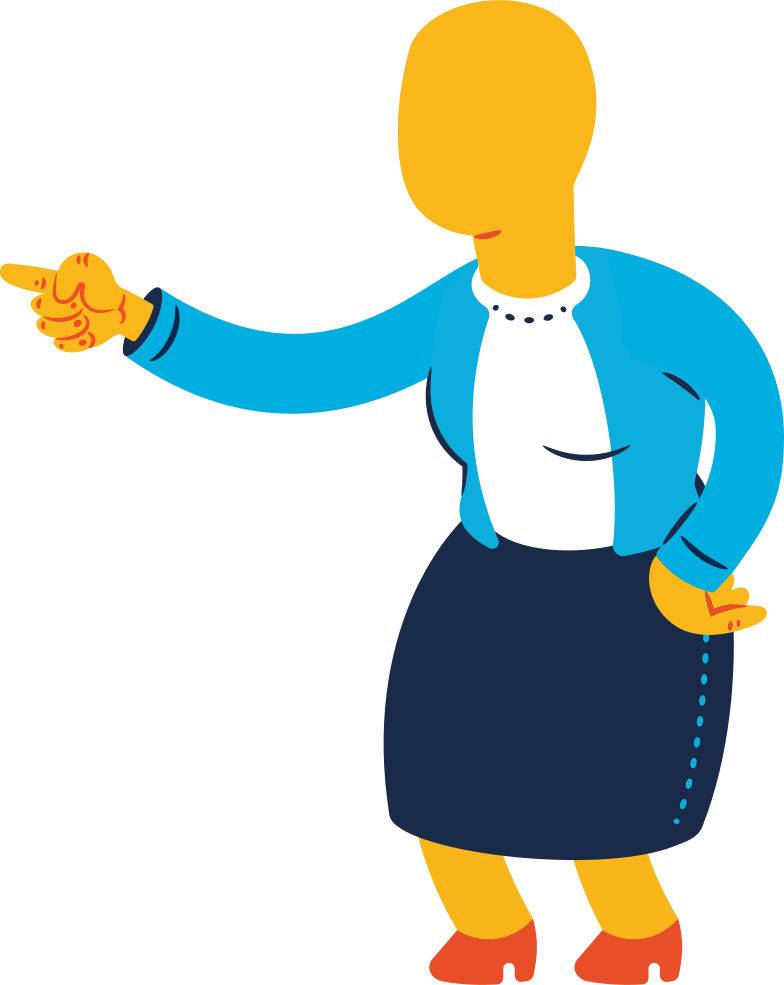 style old woman pointing Vector images in PNG and SVG | Icons8 Illustrations
