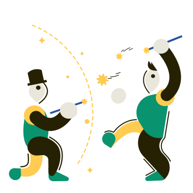 style The Duel of Wizards images in PNG and SVG | Icons8 Illustrations