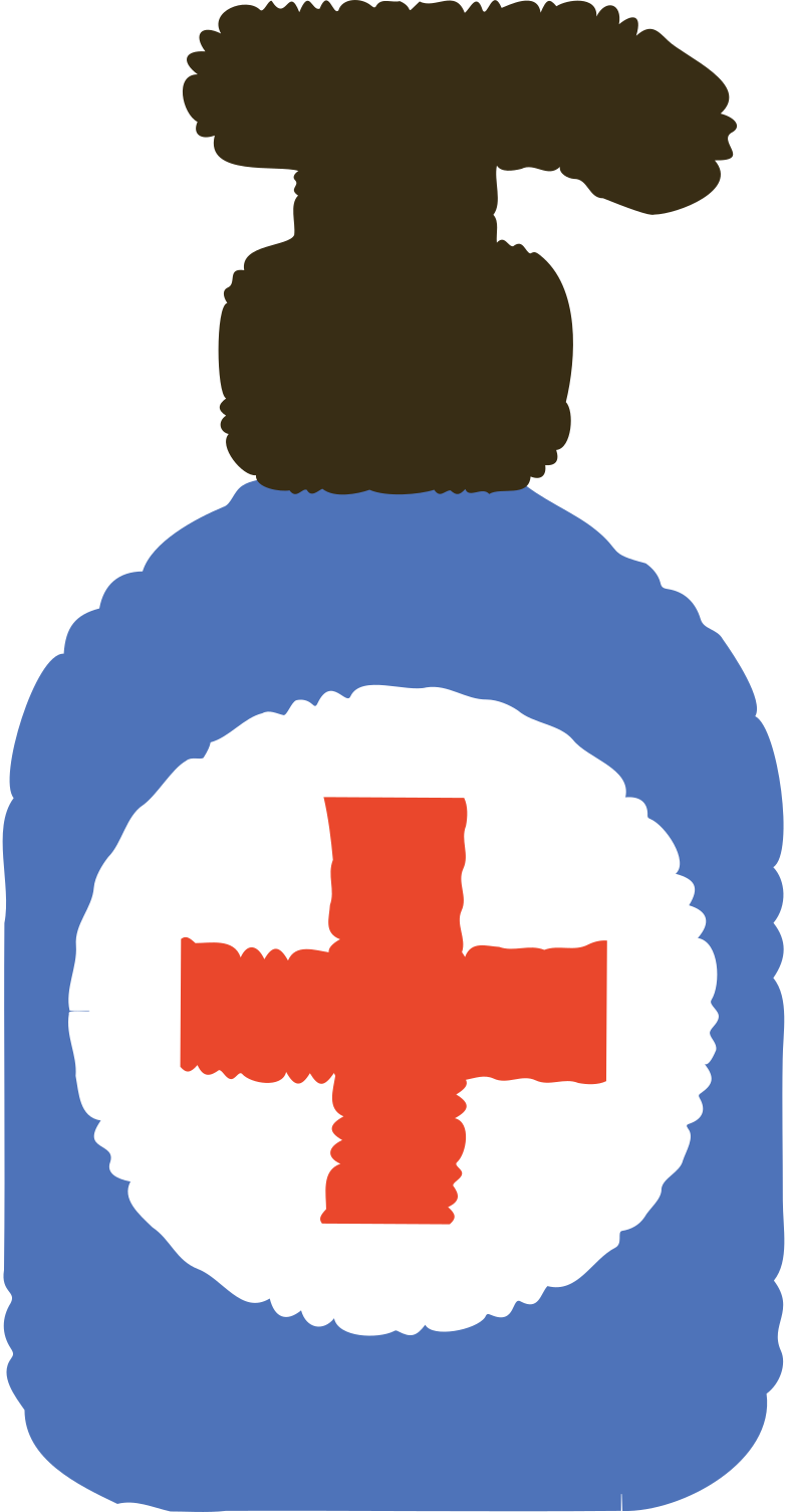 antiseptic Clipart illustration in PNG, SVG