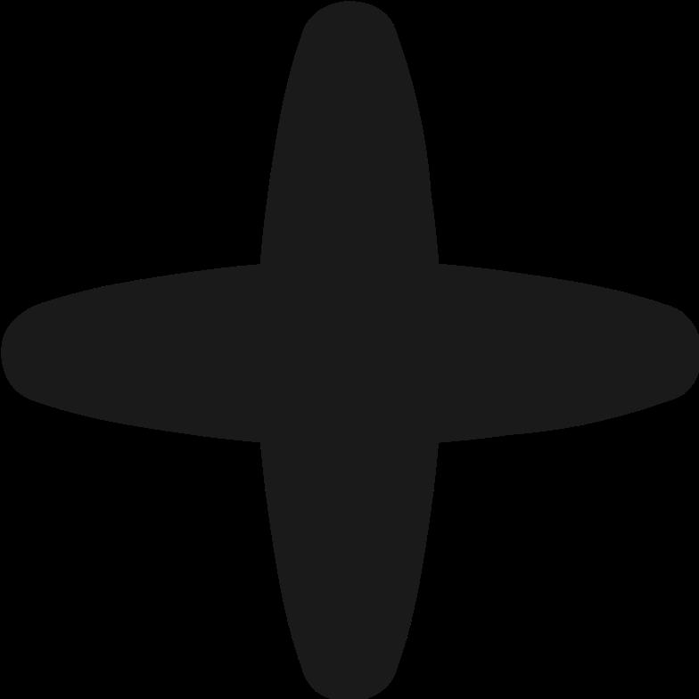 plus symbol Clipart illustration in PNG, SVG