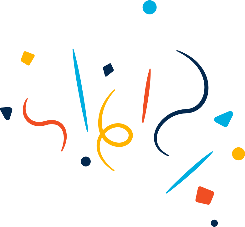 decoration confetti Clipart illustration in PNG, SVG