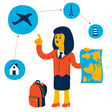 style Travel planning images in PNG and SVG | Icons8 Illustrations