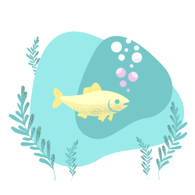 style Fish in water images in PNG and SVG | Icons8 Illustrations