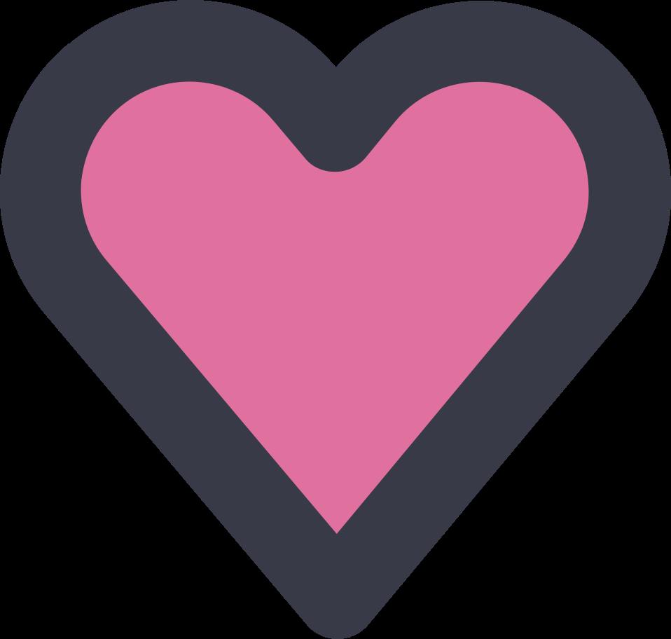 heart Clipart illustration in PNG, SVG