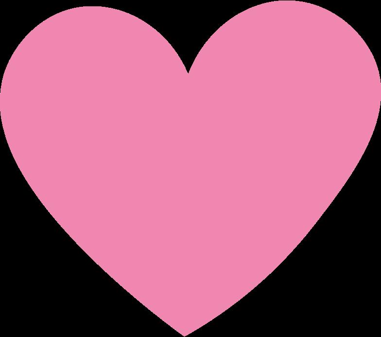 heart pink Clipart illustration in PNG, SVG