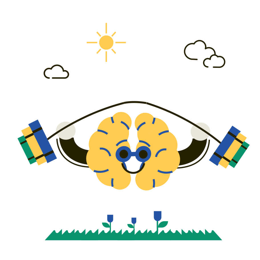 Book Brain Pumping Clipart illustration in PNG, SVG