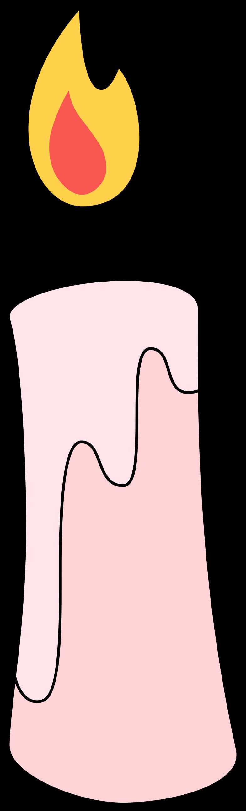Ilustración de clipart de candle en PNG, SVG