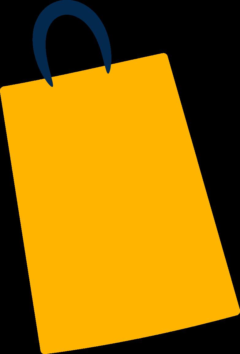 Immagine Vettoriale Pacchetto giallo in PNG e SVG in stile  | Illustrazioni Icons8