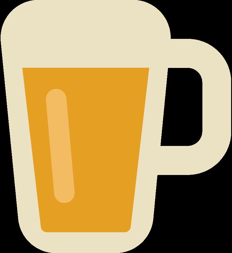 beer mug Clipart illustration in PNG, SVG
