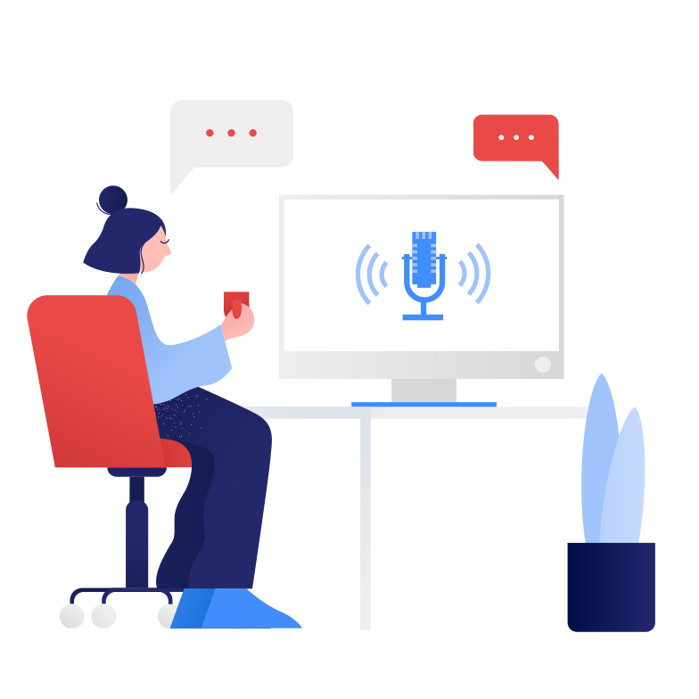 style Voice assistant Vector images in PNG and SVG | Icons8 Illustrations
