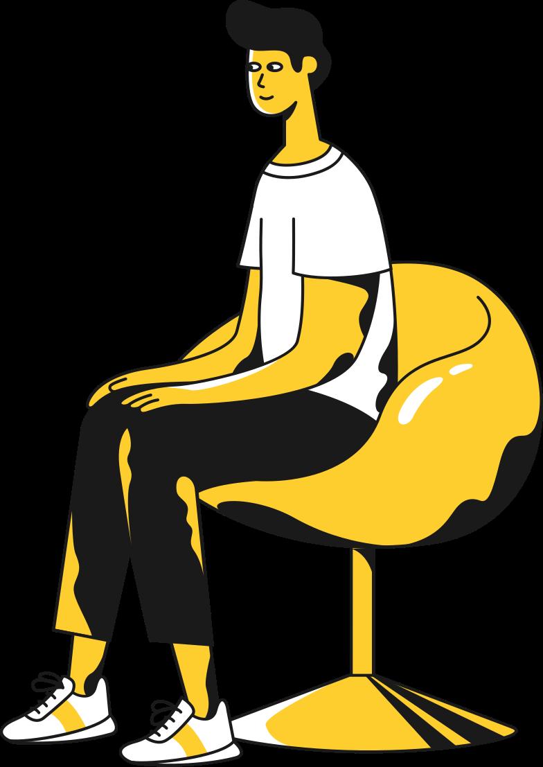 Imágenes vectoriales hombre sentado en PNG y SVG estilo  | Ilustraciones Icons8