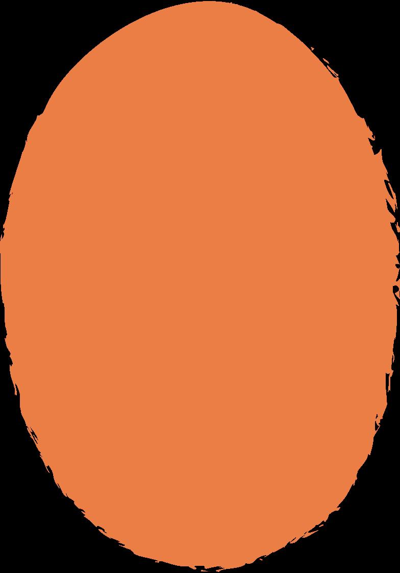 ellipse-orange Clipart illustration in PNG, SVG