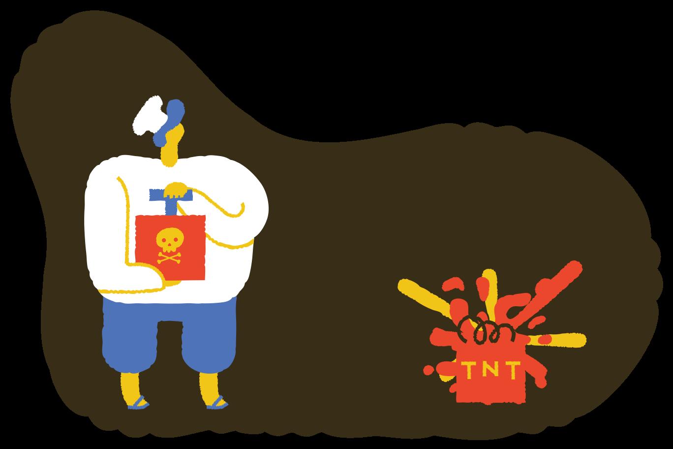 Explosion Clipart illustration in PNG, SVG
