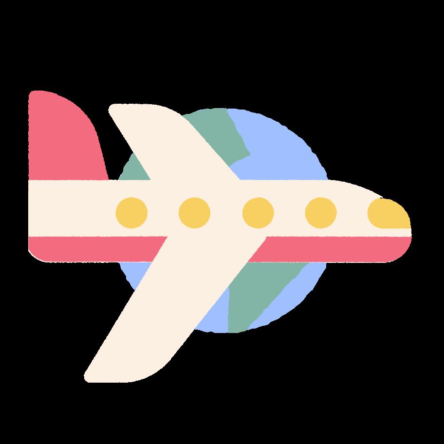 Flight Clipart illustration in PNG, SVG