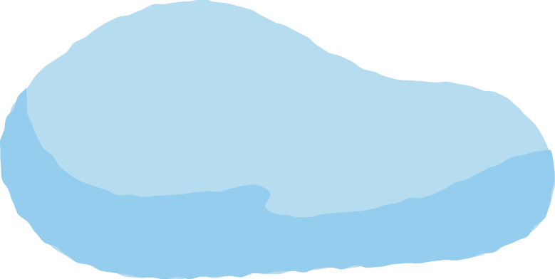snow pile Clipart illustration in PNG, SVG