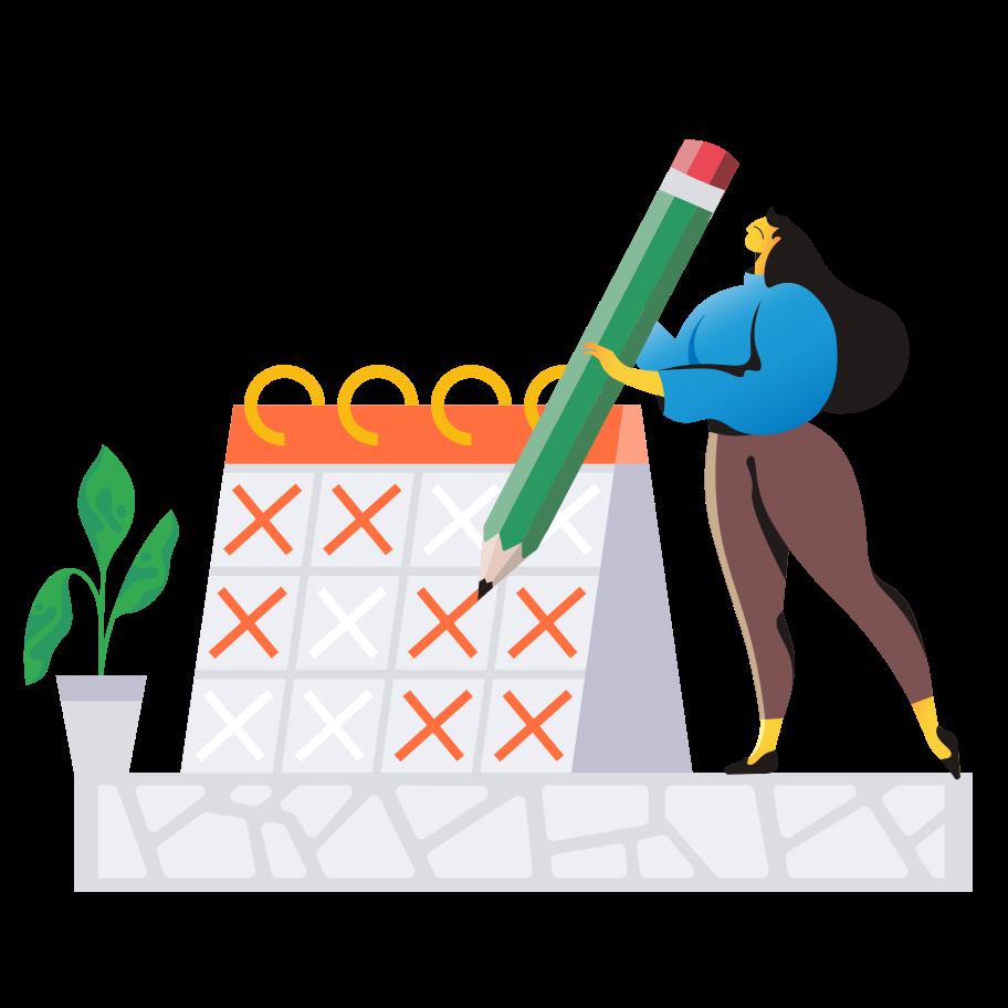 Planning Clipart illustration in PNG, SVG