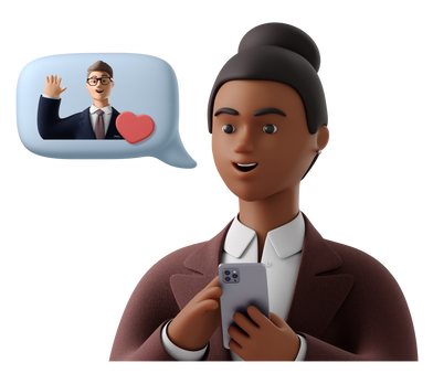 style Mobile meeting images in PNG and SVG | Icons8 Illustrations