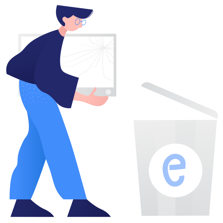 style Waste sorting- e-waste Vector images in PNG and SVG | Icons8 Illustrations
