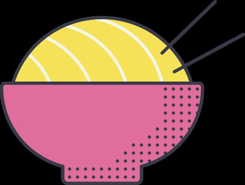 noodle Clipart illustration in PNG, SVG