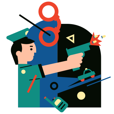 style Policeman images in PNG and SVG | Icons8 Illustrations