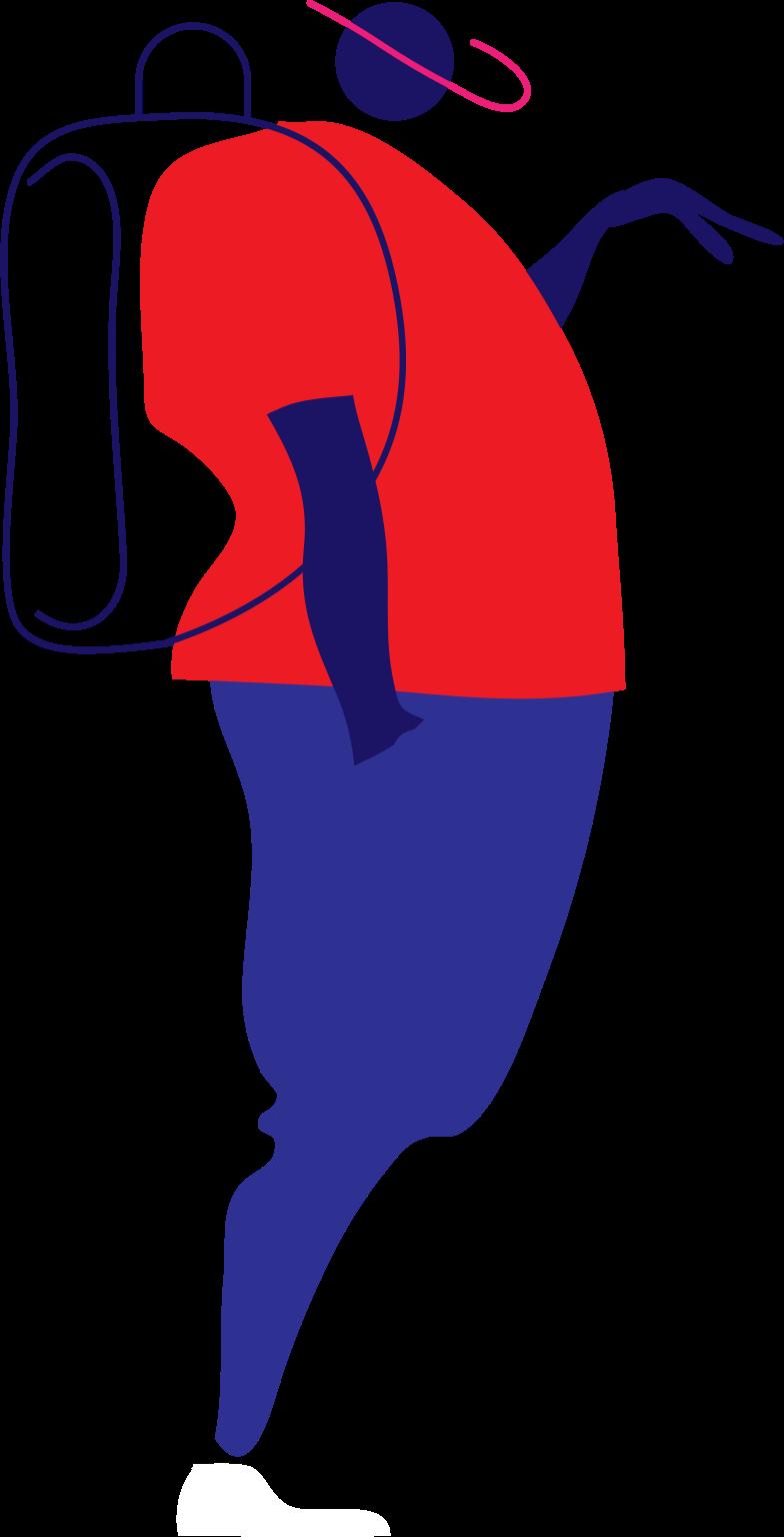 y self service man Clipart illustration in PNG, SVG