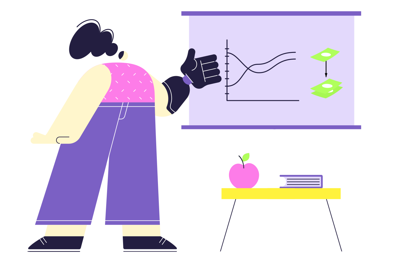 style Financial literacy Vector images in PNG and SVG | Icons8 Illustrations